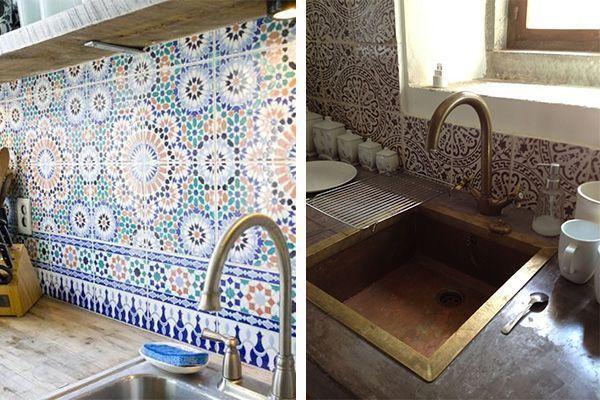 beeld een spatwand geeft je keuken niet alleen een mediterrane sfeer maar is ook nog eens heel gemakkelijk schoon te houden
