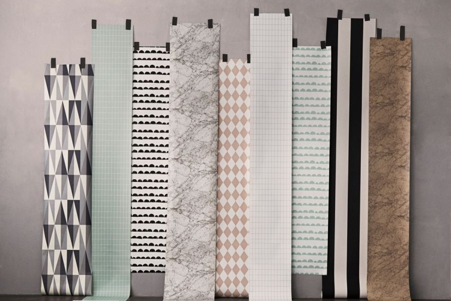 Behang Met Patroon : Behangen hoeveel behang heb ik nodig advies