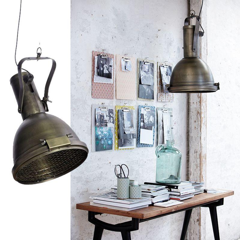 Spot industrieel trendy vloerlamp industrieel beton grijs for House doctor verlichting