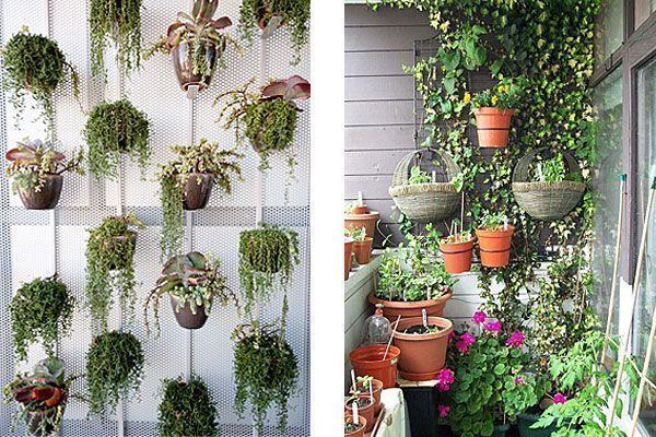 Verticale Tuin Woonkamer : Tuininrichting: 4 manieren om een klein balkon optimaal te benutten