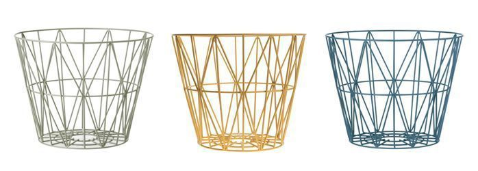 Ferm Living Wire Basket serie