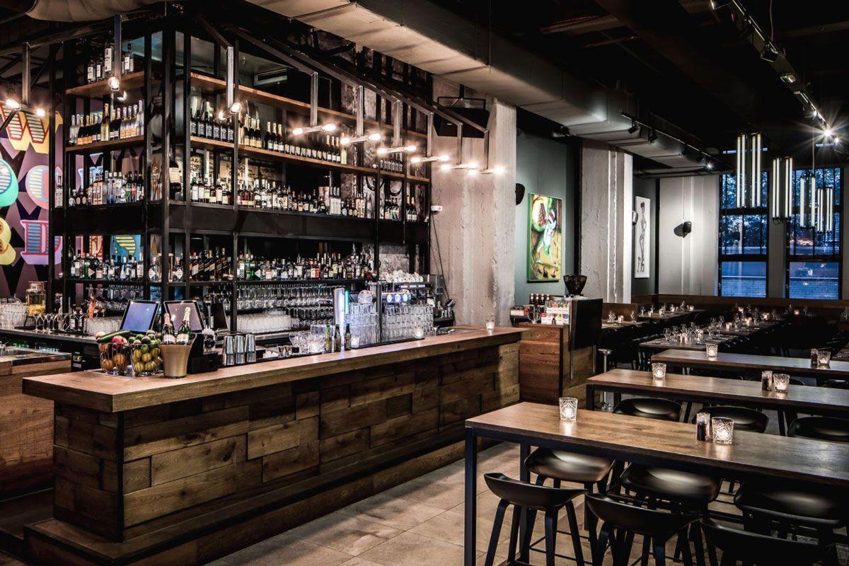 Lampen Boven Bar : Flinders project bar de bajes